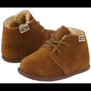 Ugg Baby Toddler Lace Up Boots 5205 Chestnut Mini